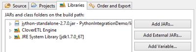 Adding Java SE into CloverDX for Python scripts integration.