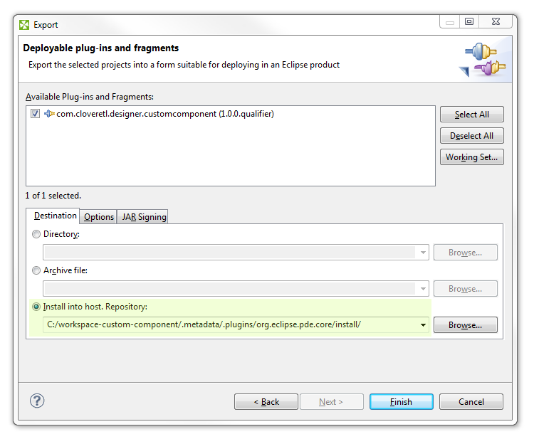 Creating Custom Component in CloverDX Step By Step: Creating Custom Component