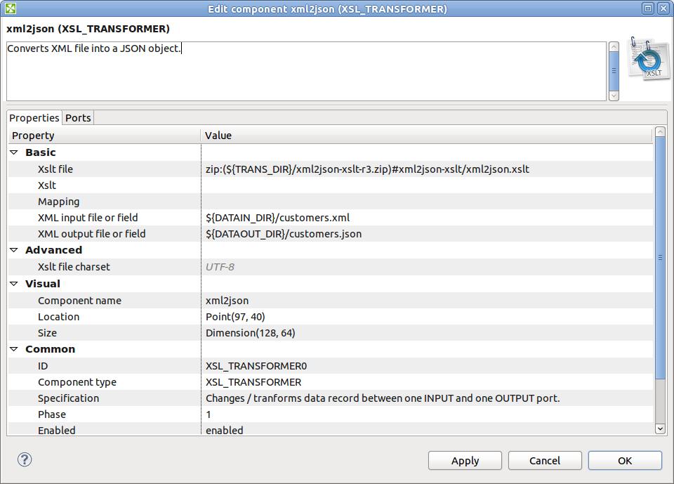 Handling of JSON Objects in CloverETL